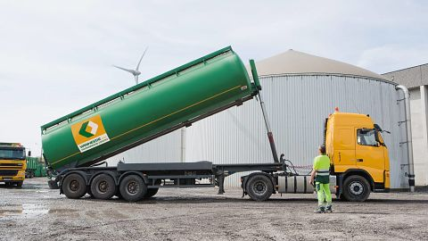 Cleaning en tanktransport