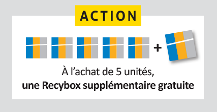 Recybox action >>> 5+1 gratuit!
